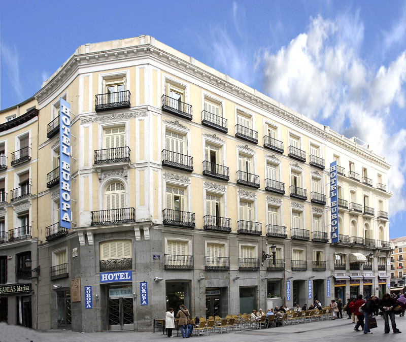 Hotel europa madrid spain for Hotels madrid