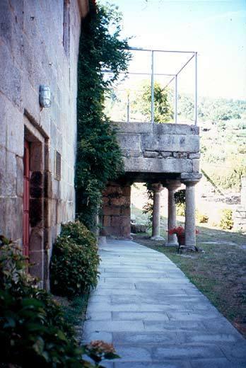 Rustic House Casa Reitoral Pazos De Arenteiro Leiro