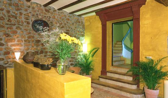 Hotel el jard n vertical vilafam s espagne for El jardin vertical de vilafames