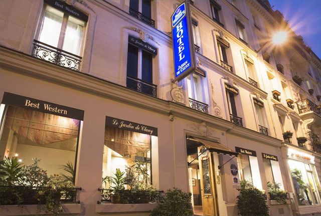 Hotel best western le jardin de cluny paris 5e for Hotel le secret paris