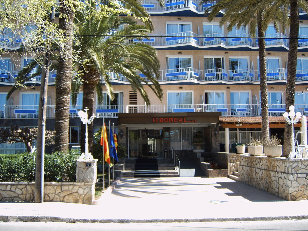 Hotel Boreal Mallorca Lage