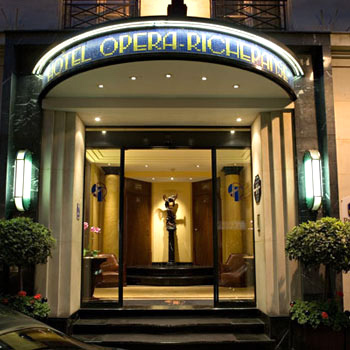 Hotel best western premier opera richepanse paris 1er for Hotel best western paris