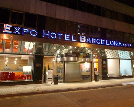 hotel expo barcelona barcelona espa a. Black Bedroom Furniture Sets. Home Design Ideas