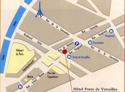 Hotel pavillon porte de versailles paris 15e - Hotel auriane porte de versailles paris ...