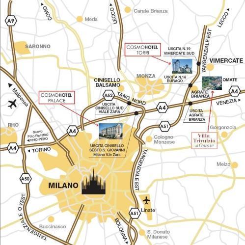 Cosmo Hotel Palace Milan