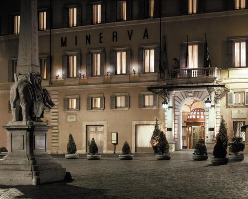 Hotel Grand Hotel De La Minerve Rome Italy Hotelsearch Com
