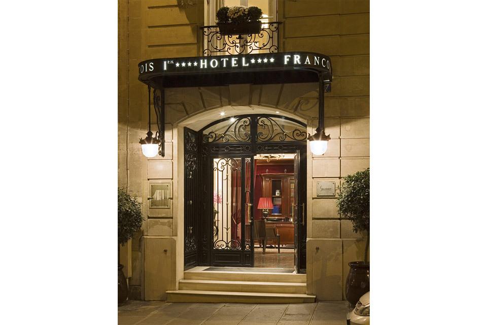 Hotel Rue Francois Er Paris