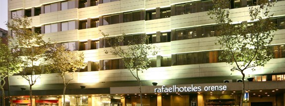 Hotel Rafaelhoteles Orense Madrid Espa A
