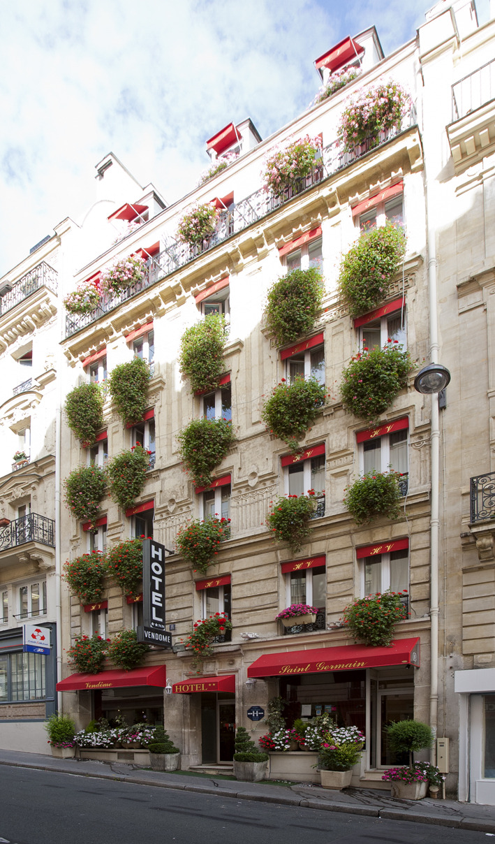 Hotel vendome saint germain paris 5e arrondissement for Hotel saint germain