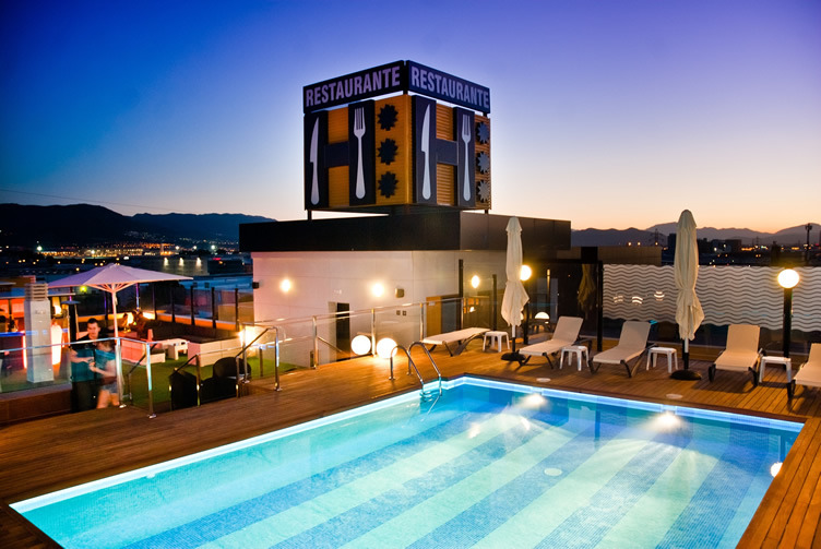 Hotel m laga nostrum malaga spain for Hotels malaga